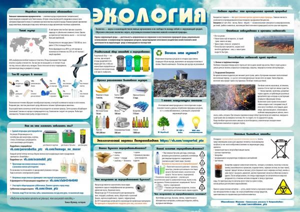 Стенгазета Экология