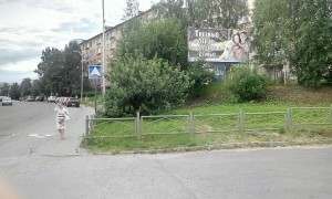 Трезвый отец опора семьи - билборд
